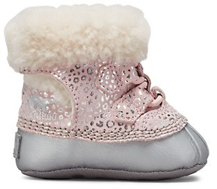 Sorel Baby's Shearling-Trim Caribooties