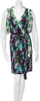 Thakoon Printed Wrap Dress
