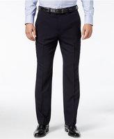 Nautica Men's Herringbone Flat Front Dress Pants