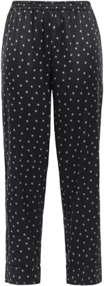 Stella McCartney Betty Twinkling Printed Silk-blend Satin Pajama Pants