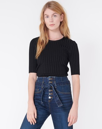 Veronica Beard Dillon Crew-Neck Pullover