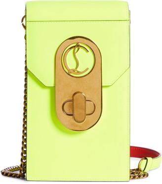 Christian Louboutin Elisa Leather Phone Crossbody Bag