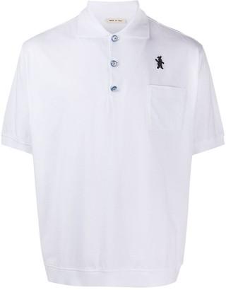 Marni Logo Embroidered Polo Shirt