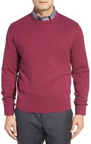 David Donahue Cable Knit Sweater