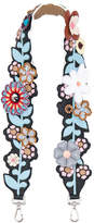 Fendi Flower Embellished Bag Strap