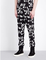 McQ by Alexander McQueen Logo-print cotton-jersey jogging bottoms