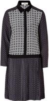 Vanessa Bruno Silk Shirtdress in Silex