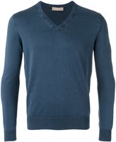 Cruciani V-neck jumper - men - Cotton - 50