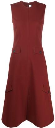 Victoria Beckham Sleeveless Flared Dress