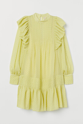 H&M Flounce-trimmed tunic