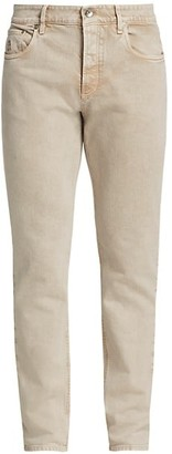 Brunello Cucinelli Acid Wash Slim-Fit Jeans