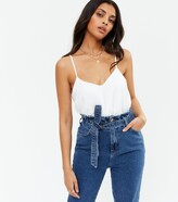 Thumbnail for your product : New Look Lattice Back Cami
