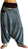 bonzaai virblatt harem pants unisex aladdin pants alternative clothing – AllesImWunderland