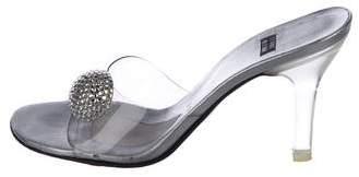 Stuart Weitzman PVC Slide Sandals