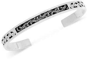 Lois Hill Filigree Cuff Bracelet in Sterling Silver