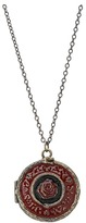 Obey Psych Rose Locket (Antique Brass) - Jewelry
