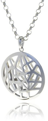 Georgina Jewelry Silver Les Racines Roots Medallion Small