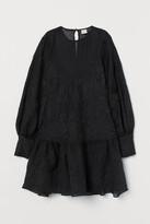 H&M Lyocell-blend Tunic - Black