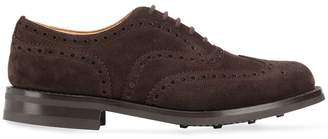 Church's AMERSHAN104 BROWN SUEDE/LEATHER/RUBBER