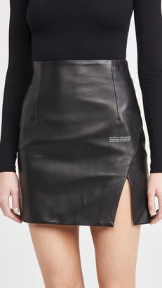 Off-White Side Split Miniskirt