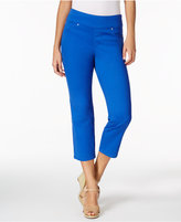 Charter Club Cambridge Pull-On Capri Jeans, Only at Macy's