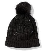 New York & Co. Jeweled Pom-Pom Hat