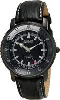 August Steiner Men's AS8124BK Analog Display Swiss Quartz Watch