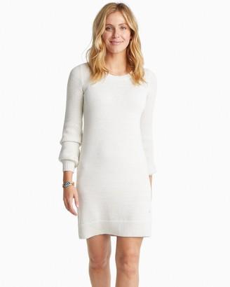 Southern Tide Adrienne Metallic Sweater Dress