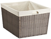 Container Store Montauk Rectangular Basket