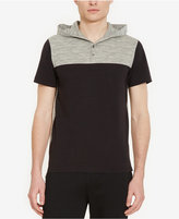 Kenneth Cole Reaction Men's Colorblocked Henley Hoodie