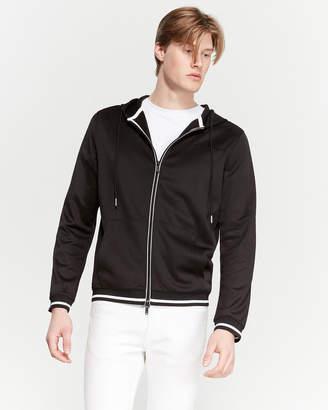 Karl Lagerfeld Paris Black Cult Long Sleeve Hoodie