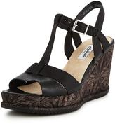 Clarks Adesha River Low Wedge Sandal