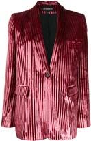 Ann Demeulemeester striped textured blazer