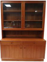 One Kings Lane Vintage Danish Modern Mobelfabrik Teak Cabinet - Chic Transitions - brown