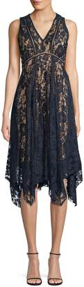 Gabby Skye Lace Sleeveless Dress