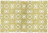 Jillian Scroll Metallic Placemat in Gold