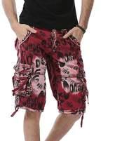AOQ Men's Casual Camouflage Cargo Shorts Cotton