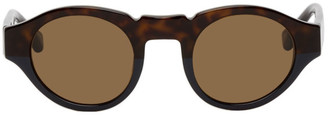 Dries Van Noten Tortoiseshell Linda Farrow Edition 62 C2 Sunglasses