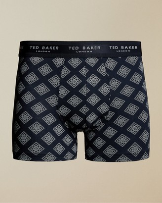 Ted Baker Printed Modal Boxer Trunks