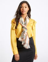 Marks and Spencer Abstract Striped Scarf