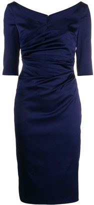 Talbot Runhof Kortney midi dress