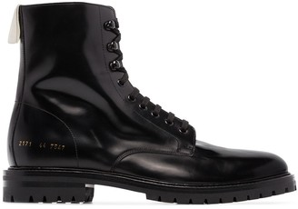 Common Projects Combat Ankle Boots