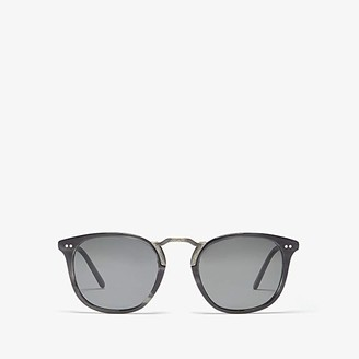 Oliver Peoples Roone (Charcoal Tortoise/Antique Pewter) Fashion Sunglasses