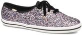 Kate Spade Keds X Keds x Women's Sneakers GLITTER - Pink Glitter Champion Sneaker - Women