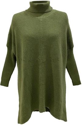 Goodnight Macaroon 'Anastasia' Roll Neck Horizontal Ribbed Long Sweater (5 Colors)