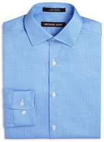 Michael Kors Boys' Jacquard Dress Shirt - Sizes 8-20