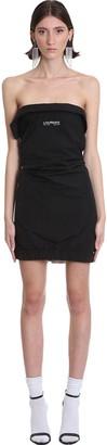 Lourdes Dress In Black Polyester