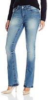 Seven7 Women's Thick Stitch Slim Bootcut Jean