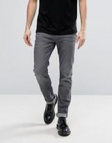 Allsaints Allsaints Jeans In Slim Straight Fit Grey