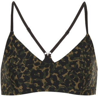 The Upside Leopard Camo Zoe sports bra